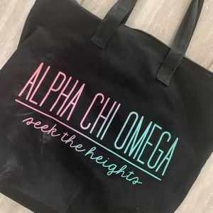 Alpha Chi Omega Tote ✨